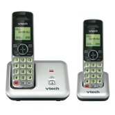 2 Handset Cordless Phone with Caller ID and Call Waiting