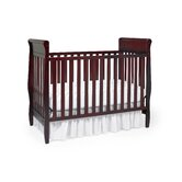 Sarah Classic 4-in-1 Convertible Crib in Cherry