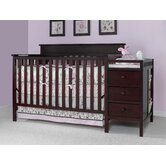 Lauren Crib and Changing Table in Classic Cherry
