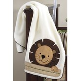 Baby Zoo Fleece Blanket