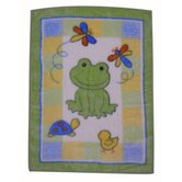 Froggy Tales High Pile Blanket