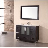 Milan Stanton 48&quot; Modern Vanity with Drop in Sink