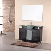 "Huntington 48"" Single Sink Vanity Set in Espresso"