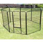 "28"" 4-Panel Heavy Duty Pet Playpen"