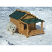 Insulated Cedar Dog House
