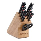 Gourmet 10 Piece Knife Block Set