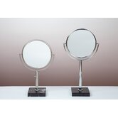 Kosmetic Astoria Mirror in Brushed Nickel