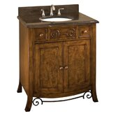 32&quot; Bath Vanity in Walnut Burl