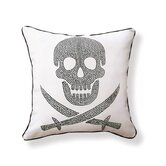 Skull Double Sided Cotton Pillow