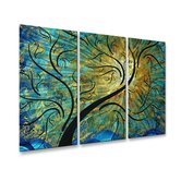 Rainbow Night Metal Wall Decor
