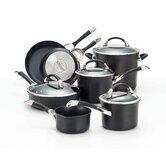 Symmetry Hard Anodized 11-Piece Cookware Set