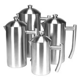 Brushed Stainless Steel French Press