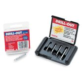 Micro Drill-Out 4Pc Set/Kit