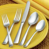 45 Piece Rainbow Flatware Set