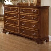 Wellington Manor 8 Drawer Dresser