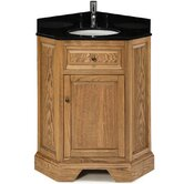 Chesapeake Corner Vanity Combo in Driftwood