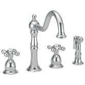Metal Cross Handle for Kitchen Faucets