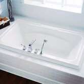 "6' x 42"" Town Square Whirlpool with StayClean Hydro Massage System l"