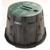 "10"" Round Valve Box with Lid"