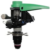 Plastic Impact Sprinkler with Nozzle Set