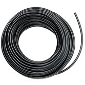 Poly Drip Watering Hose in Black
