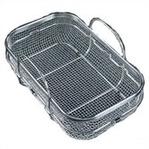 "9.625"" Wide Stainless Steel Mesh Colander"