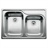 Supreme 1.75 Bowl Drop-In Kitchen Sink