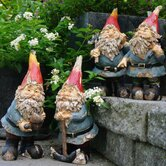 Garden Gnomes Statue (Set of 4)