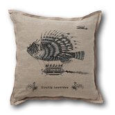 Retro-Futuristic Artifacts Airship Leonidas Pillow Cover