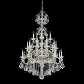 La Scala 25 Light Chandelier with Crystal