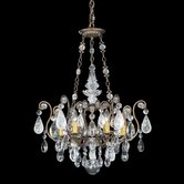 Renaissance Rock Crystal 6 Light Chandelier