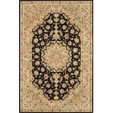 Silk Pearl Black/Light Gold Rug