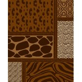 Landscapes Safari Brown Rug