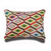 Bargello Diamonds Pillow