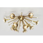 Sputnik 12 Light Wall Sconce