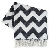 Zig Zag Wool Throw