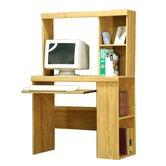 Charles Harris 36&quot; W Bookcase Computer Desk