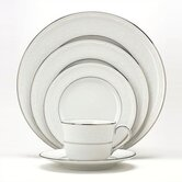 Whitecliff Platinum Dinnerware Set
