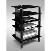 AVM 5 Shelf Audio Rack