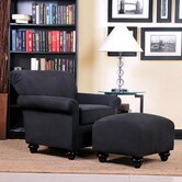 Fairfax Chair and Ottoman