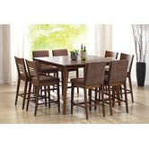Grada 9 Piece Counter Height Dining Set