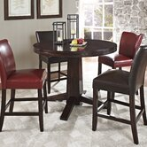 Hartford 5 Piece Counter Height Dining Set