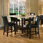 Monarch 5 Piece Counter Height Dining Set