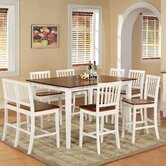 Branson 8 Piece Counter Height Dining Set