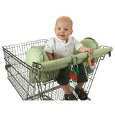 Prop R Shopper Body Fit Shopping Cart Cover in Green Dot