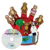 Monkeys Jumping on the Bed Storytelling Glove Puppet