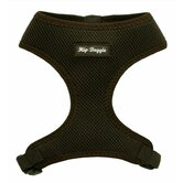 Ultra Comfort Mesh Dog Harness Vest in Brown