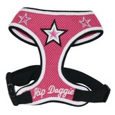 Super Star Dog Harness Vest in Pink