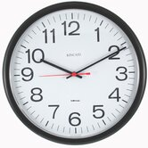 Always Set � Tubular Wall Clock in Black