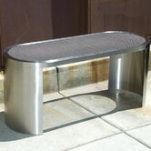 Prost Stainless Steel Entryway Bench